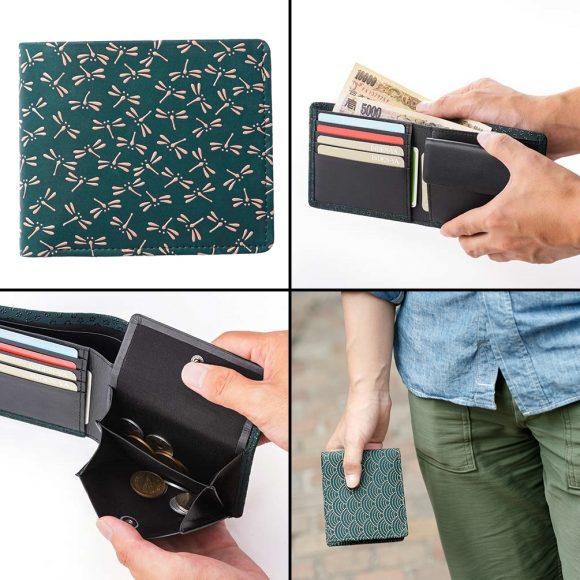 ジザインバイインデンの二つ折り財布