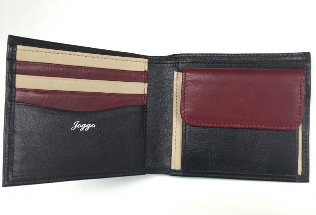 JOGGOの二つ折り財布をサンプルと比べてみる