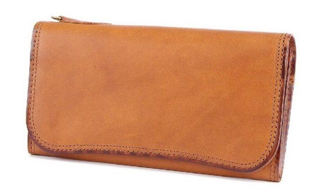コルボのスレート長財布
