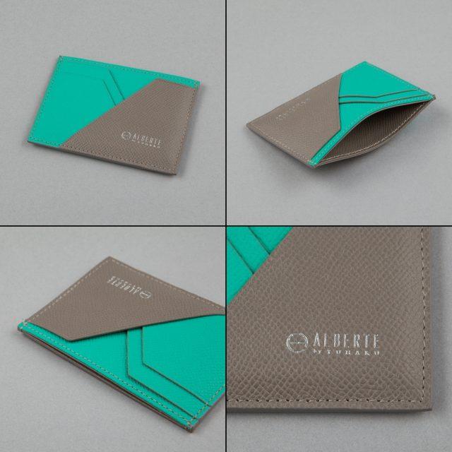 YUHAKUプロデュースの大人カジュアルの定番アルベルテシリーズのショートカードケース