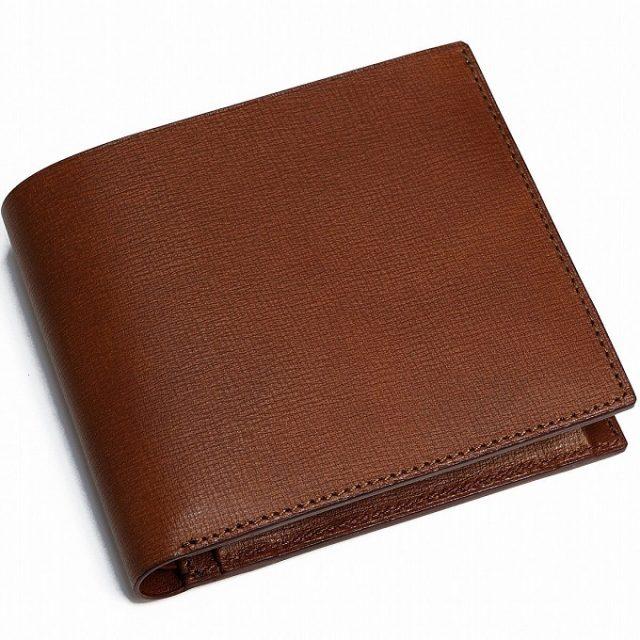 博庵のメンズ二つ折り財布