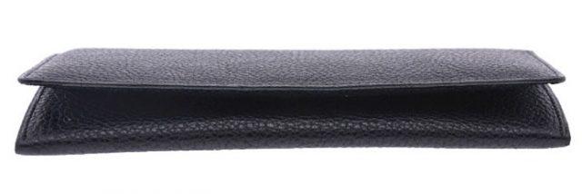 ポーターメトロシリーズの長財布を横から見たところ