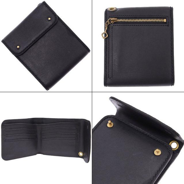 ポーターグランジの三つ折財布