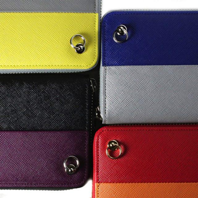 ジャムホームメイドとラジオエヴァのキャラクターコラボ革財布