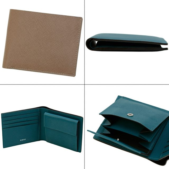 ポーターのグルーシリーズの二つ折り財布
