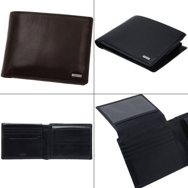 ポーターのシーンシリーズの二つ折り財布