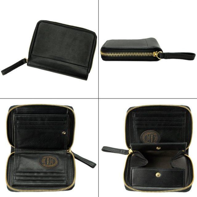 ポーターワイズシリーズのラウンドファスナー二つ折り財布
