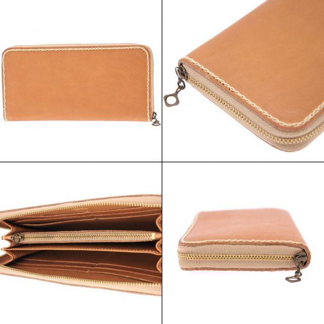 ポーターグランジのラウンドファスナー長財布の詳細