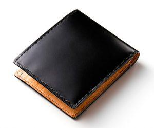ココマイスターのMEISTERコードバン二つ折り財布