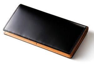ココマイスターのハイフライヤーコードバン長財布