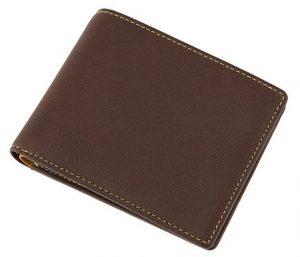 キプリスのディアスキン(鹿革)を使った二つ折り財布