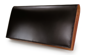 GANZOのコードバン長財布