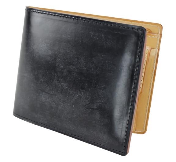 ガンゾのビジネス向け財布シンブライドル二つ折り