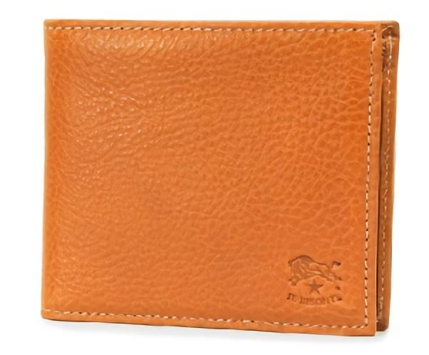 カジュアルなイルビゾンテの二つ折り財布