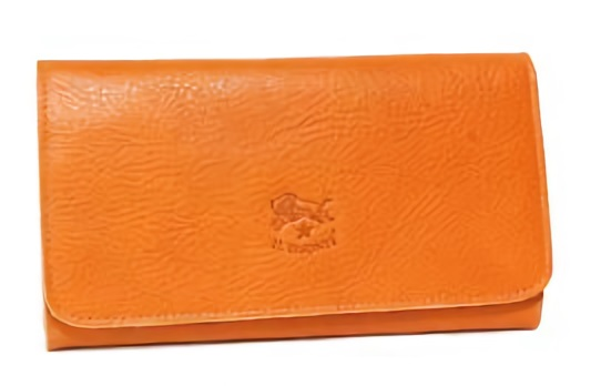 カジュアル代表のIL BISONTE長財布