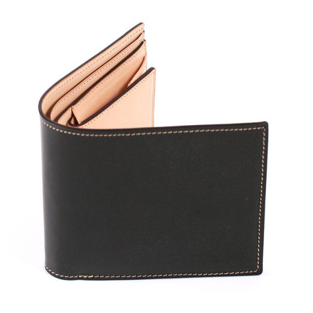 万双のブライドル二つ折り財布
