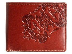オロビアンコのカジュアルな二つ折り財布ユニーク