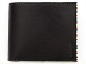 カジュアルな二つ折り財布のポールスミス