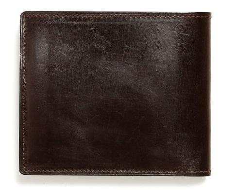 土屋鞄製作所のビジネス向けブライドル二つ折り財布