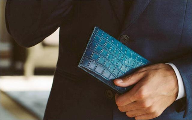 ユハクのコブウェブシリーズの長財布