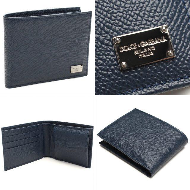 ドルチェアンドガッバーナの二つ折り財布