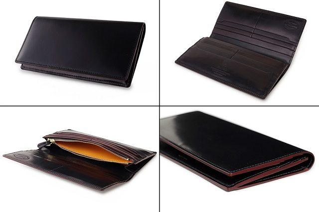 GANZOのシェルコードバンを使った長財布
