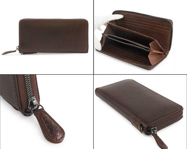 ノマドイのラウンドファスナー長財布