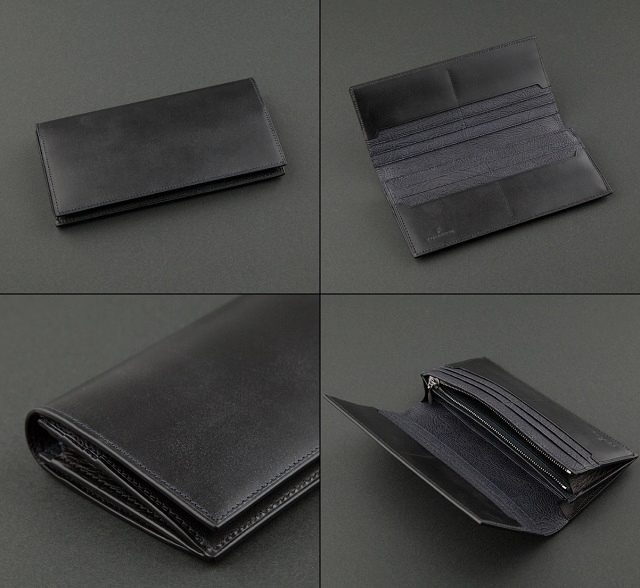 YUHAKUのブライドル長財布の束入れ