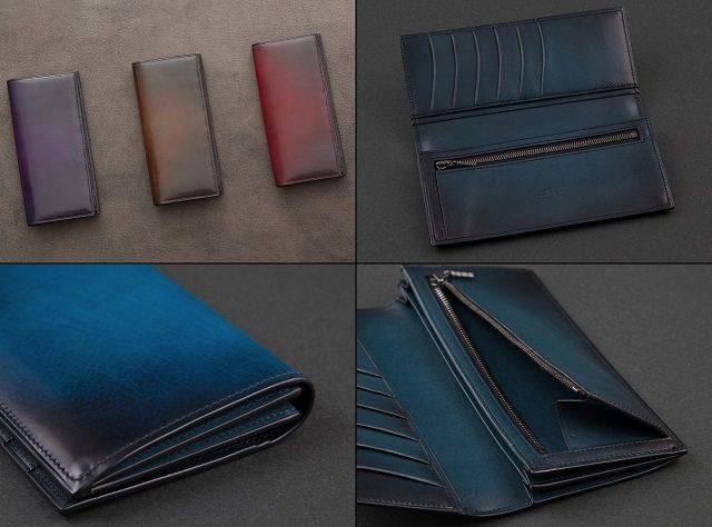 YUHAKUのヴェラトゥーラシリーズの長財布