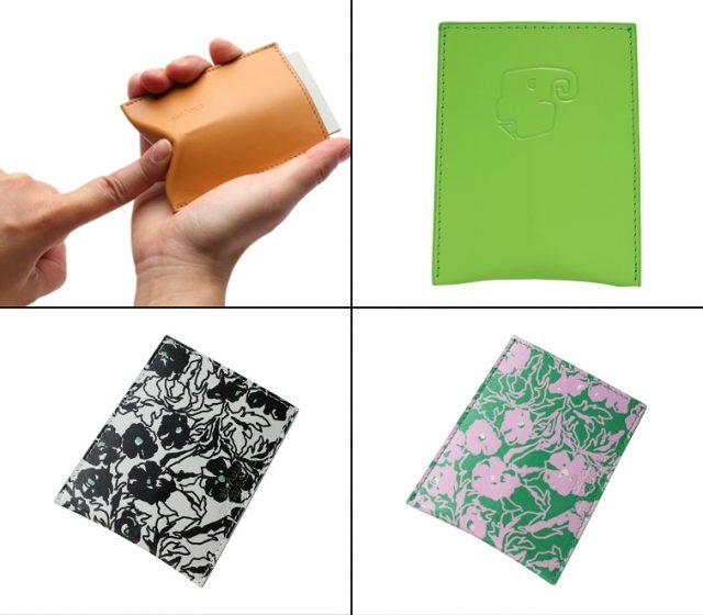 薄い財布でおなじみのアブラサスから出ている薄い名刺入れシリーズ
