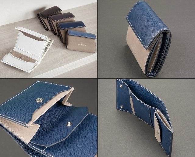 YUHAKUのツイツイシリーズのコンパクトウォレット ミニ財布