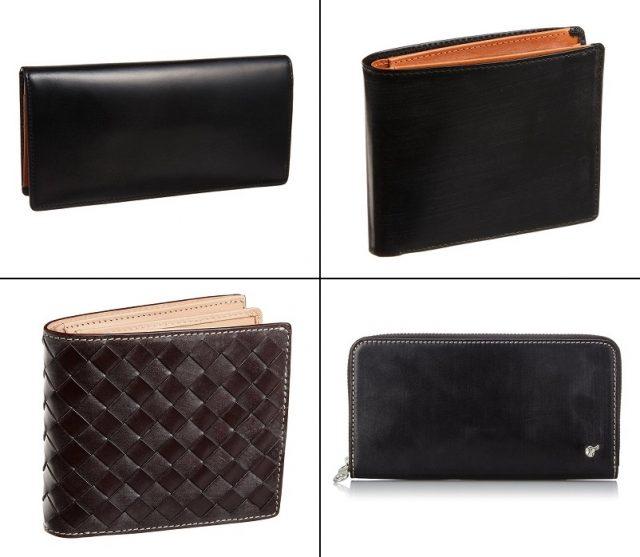 ブリティッシュグリーンのブライドルレザーシリーズの革財布