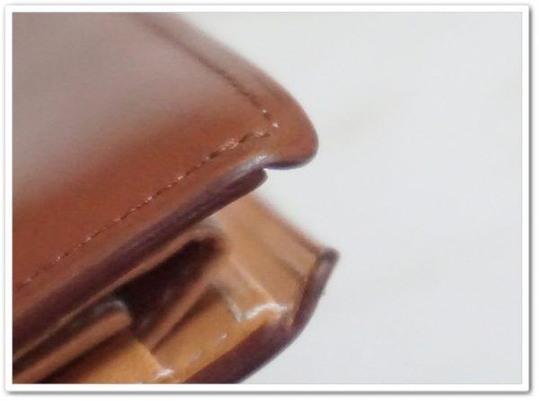 インペリアルパースのエイジング画像の角部分