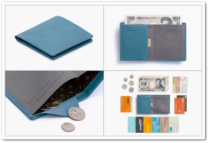 ベルロイのNote Sleeve Wallet