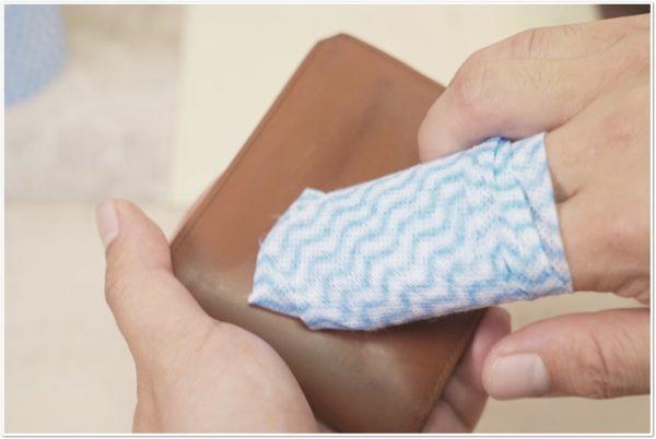 ブライドルレザーの二つ折り財布をメンテナンス (27)