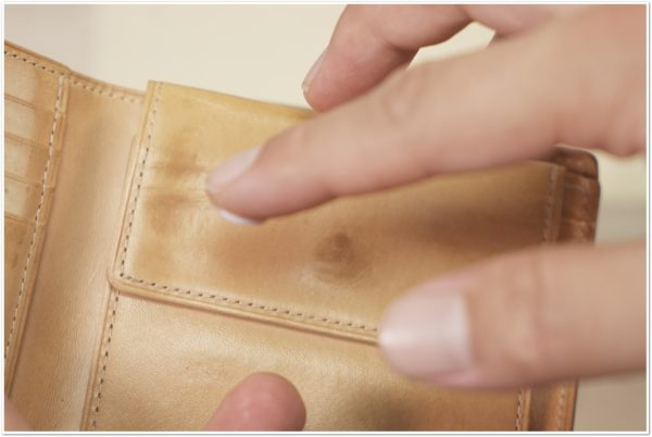 ブライドルレザーの二つ折り財布をメンテナンス (33)