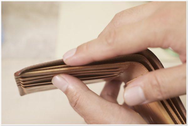 ブライドルレザーの二つ折り財布をメンテナンス (38)