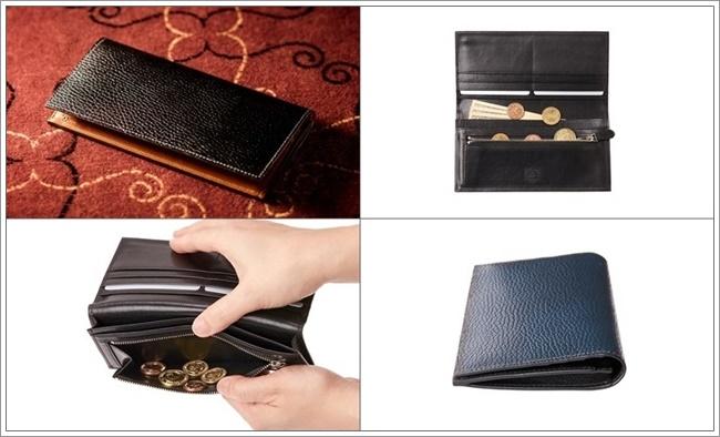 ロッソピエトラ 薄型長財布
