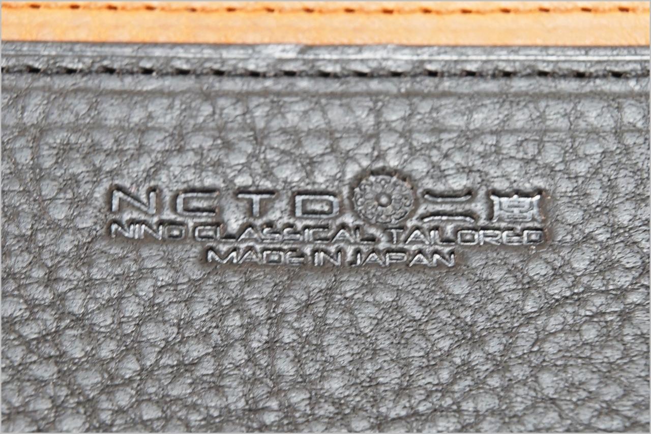 ディアレスト長財布のカブセ束入れN01のロゴ