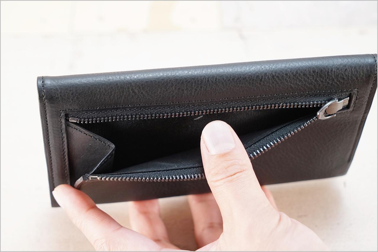ディアレスト長財布のカブセ束入れN01の小銭入れ