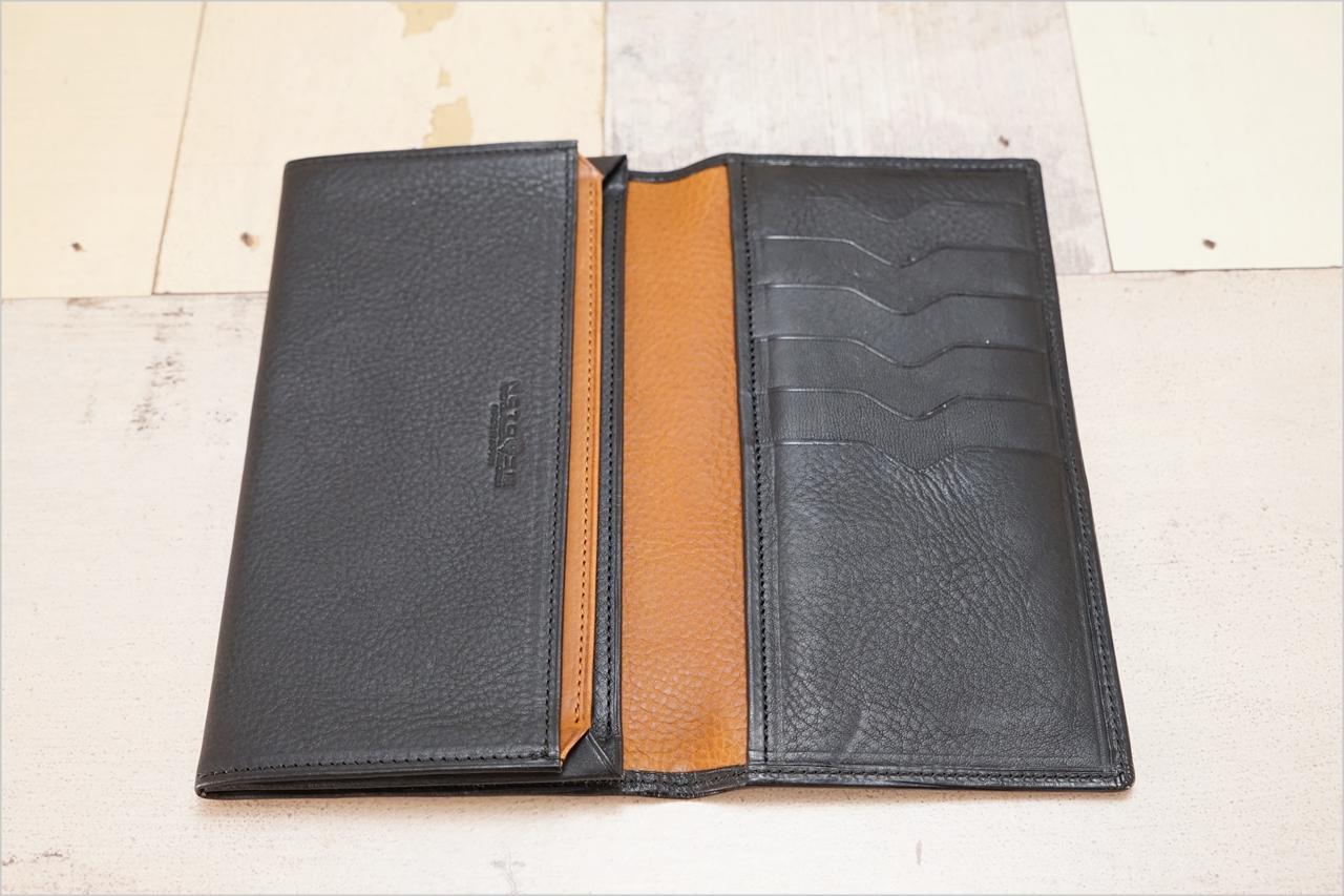 ディアレスト長財布のカブセ束入れN01の内装